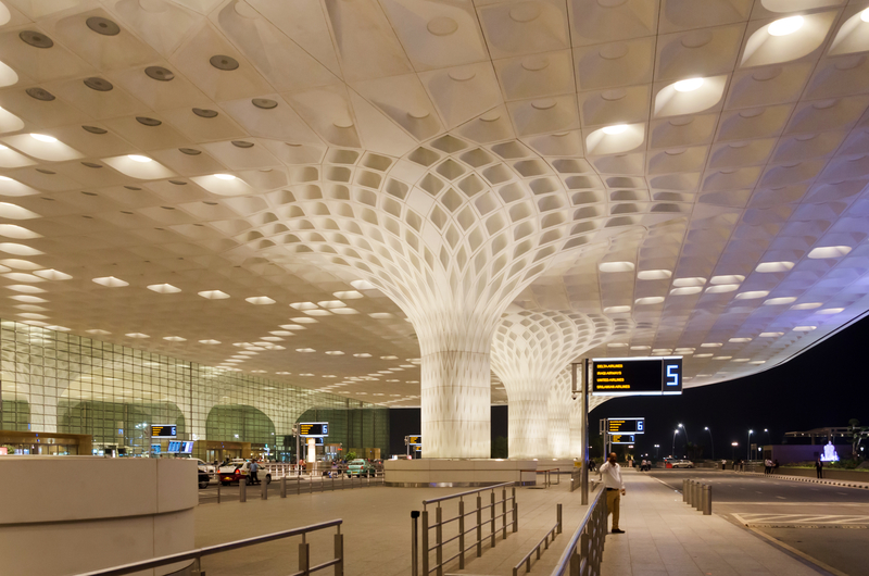 BOM Airport is located in Andheri, 8 km north of downtown Mumbai.